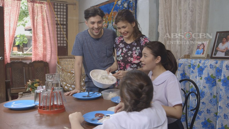 Roxanne Guinoo, Joross Gamboa, and Raine Salamante in Maalaala mo kaya (1991)