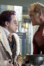 Mark Hamill and John Wesley Shipp in The Flash (2014)