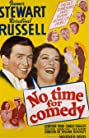 No Time for Comedy (1940) Poster