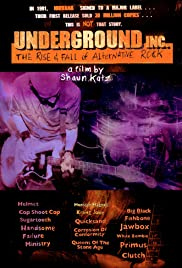 Underground Inc: The Rise & Fall of Alternative Rock Poster