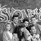 Valerie Bertinelli, Matthew Perry, Rebeccah Bush, Perry Anzilotti, Craig Bierko, and Barney Martin in Sydney (1990)