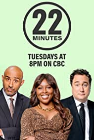 Mark Critch, Aba Amuquandoh, and Trent McClellan in This Hour Has 22 Minutes (1992)