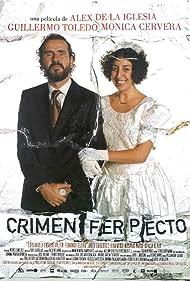 Guillermo Toledo and Mónica Cervera in Crimen Ferpecto (2004)