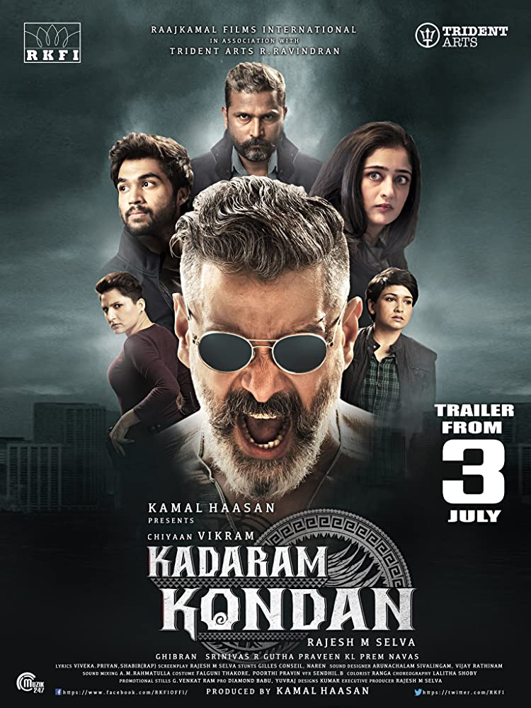 Kadaram Kondan (2019) Tamil 720p Proper HDRip 1.3GB ESub Download