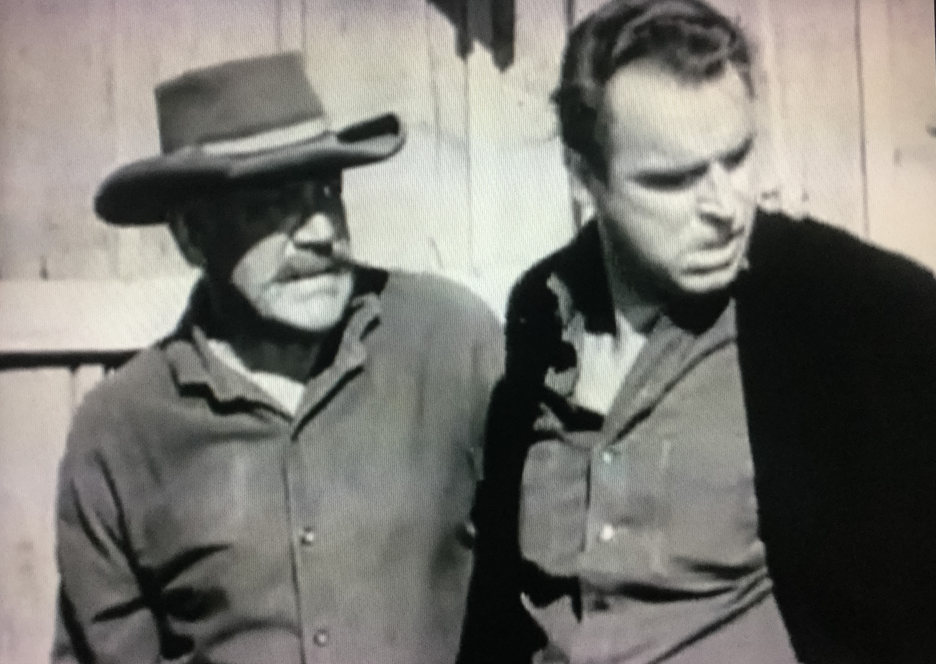 Stanley Blystone and Glen Gordon in Stories of the Century (1954)