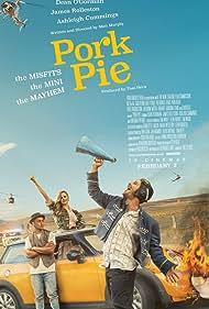 Dean O'Gorman, James Rolleston, and Ashleigh Cummings in Pork Pie (2017)
