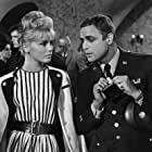 Marlon Brando and Susanne Cramer in Bedtime Story (1964)
