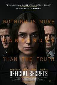 Ralph Fiennes, Keira Knightley, and Matt Smith in Official Secrets (2019)
