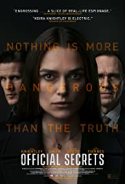 Watch Full HD Movie Official Secrets (2019)