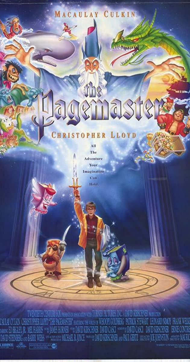 the pagemaster 1994 full movie