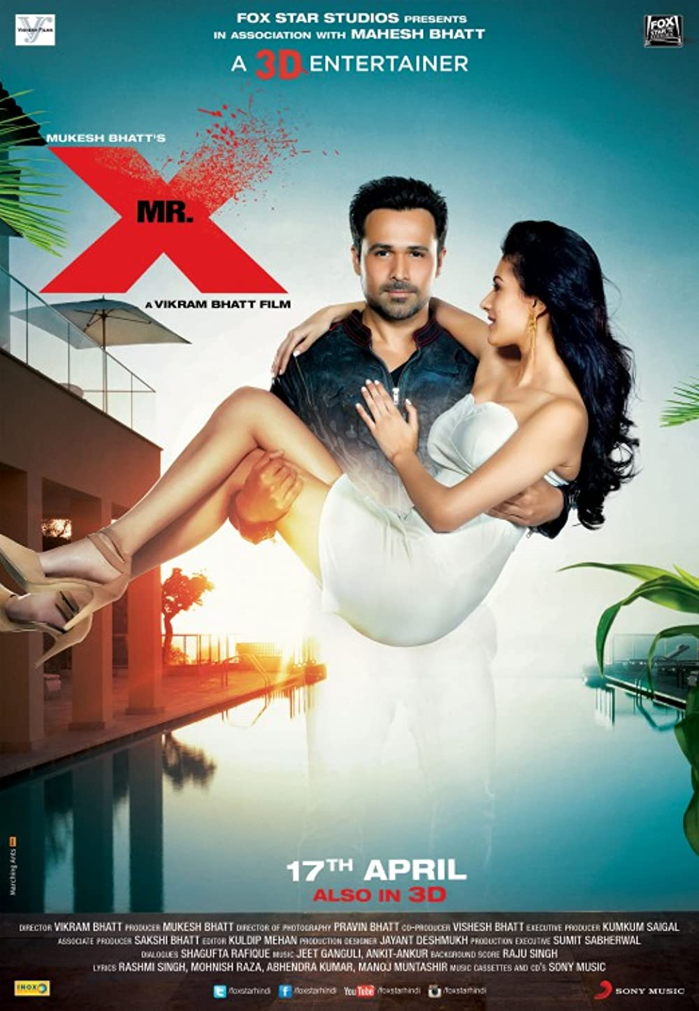 Mr. X (2015) Hindi Movie 720p WEB-DL x264 AAC 800MB Download