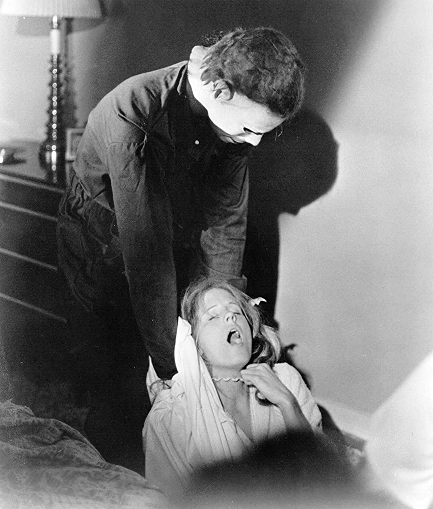 P.J. Soles and Nick Castle in Halloween (1978)