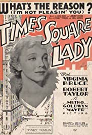 Times Square Lady Poster