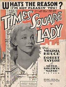 Times Square Lady USA