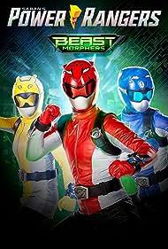 Jacqueline Scislowski, Rorrie D. Travis, and Jasmeet Baduwalia in Power Rangers Beast Morphers (2019)
