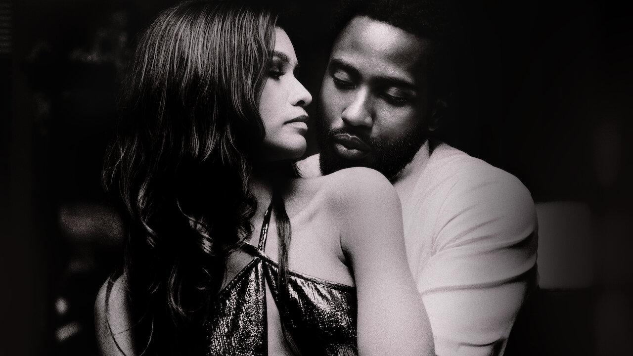 John David Washington and Zendaya in Malcolm & Marie (2021)