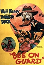 Bee on Guard Poster