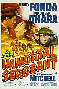 Movies downloads free Immortal Sergeant by John M. Stahl [2K]