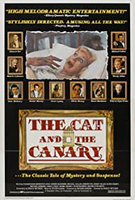 Honor Blackman, Olivia Hussey, Edward Fox, Michael Callan, Wendy Hiller, Wilfrid Hyde-White, Beatrix Lehmann, Carol Lynley, Daniel Massey, and Peter McEnery in The Cat and the Canary (1978)
