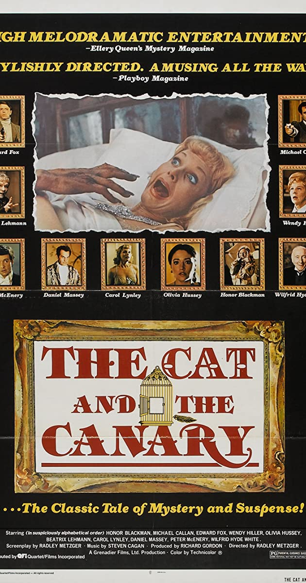 Watch Full HD Movie The Cat and the Canary (1978)
