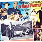 Vittorio Gassman, Anna Maria Ferrero, and Dorian Gray in Il mattatore (1960)