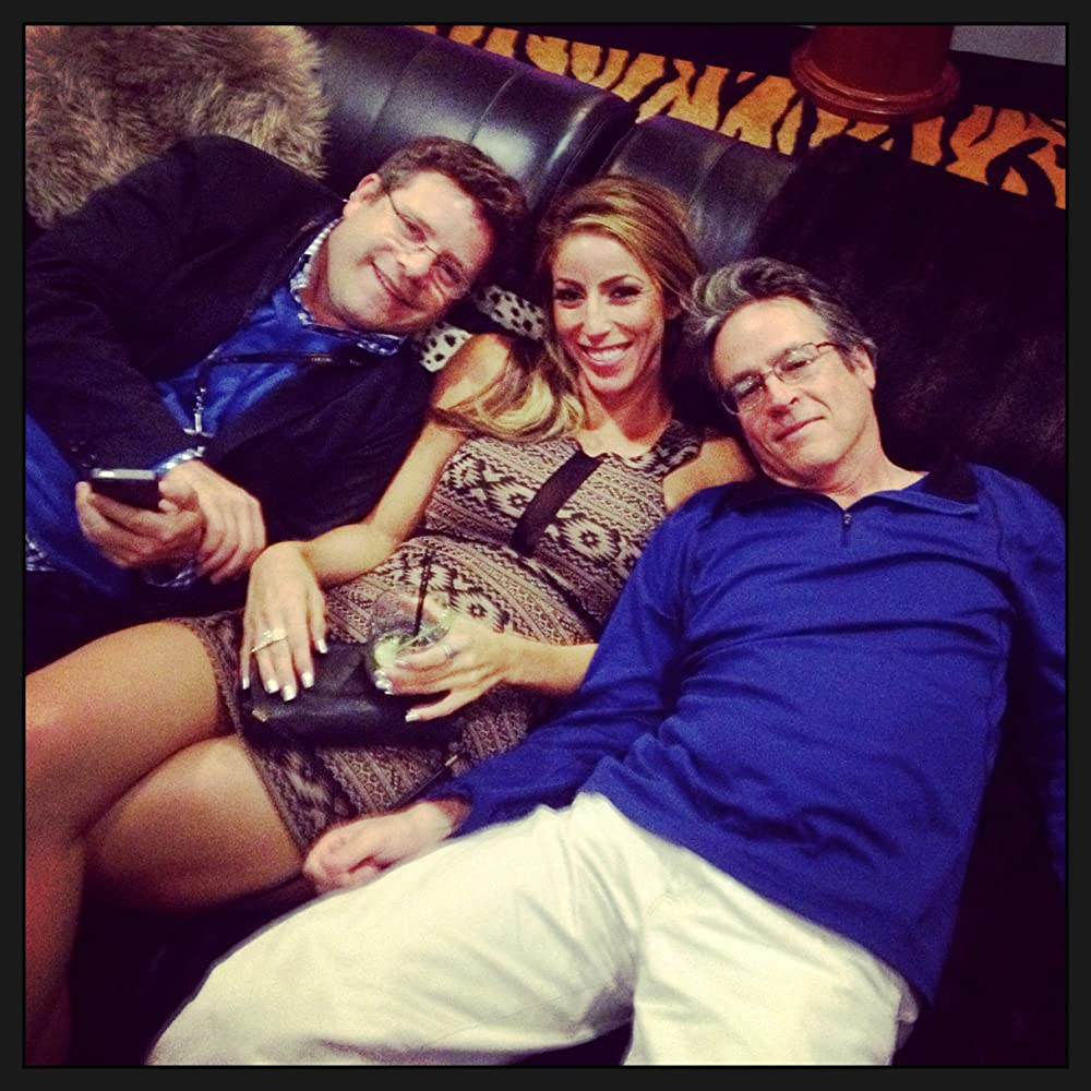 """Lauren Pacheco with Sean Astin & Angelo Pizzo at the 20 year anniversary of """"Rudy"""""""