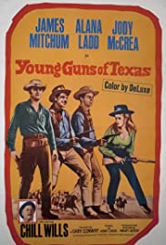 Young Guns of Texas (1962) Poster - Movie Forum, Cast, Reviews