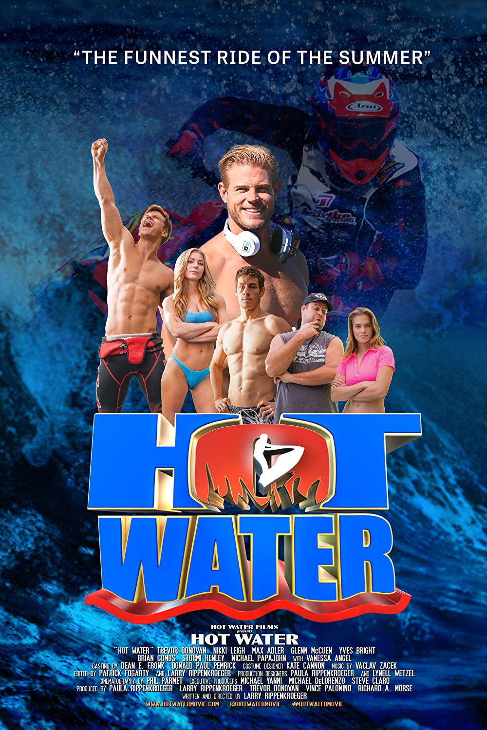 Hot Water 2021 English 720p HDRip 800MB | 300MB Download