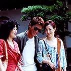 Sammi Cheng, Louis Koo, and Sandra Kwan Yue Ng in Luen seung ngei dik chong (2003)