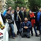 Hanie Tavassoli, Houman Seyyedi, Mostafa Zamani, Milad Keymaram, Mostafa Kiayee, and Mohsen Kiayee in Special Line (2014)