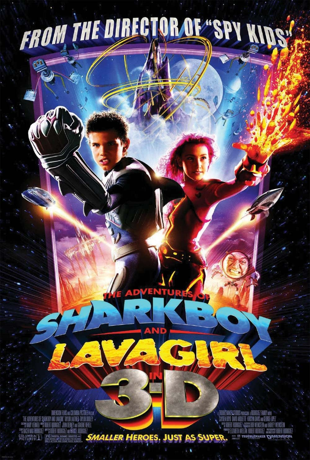 The Adventures of Sharkboy and Lavagirl (2005) Hindi Dubbed