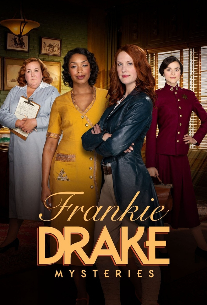 FRENKI DREIK PASLAPTYS (3 sezonas) / FRANKIE DRAKE MYSTERIES