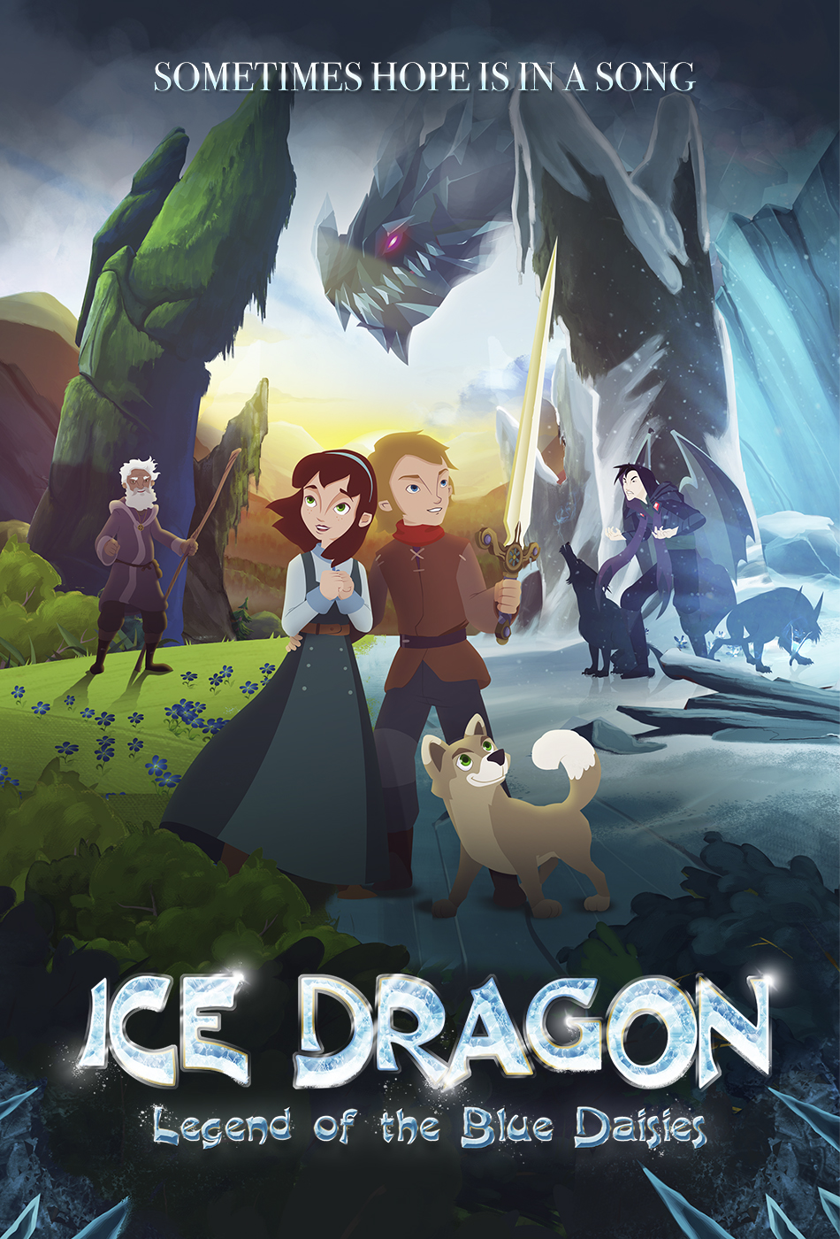 ICE DRAGON: LEGEND OF THE BLUE DAISIES (2018) online