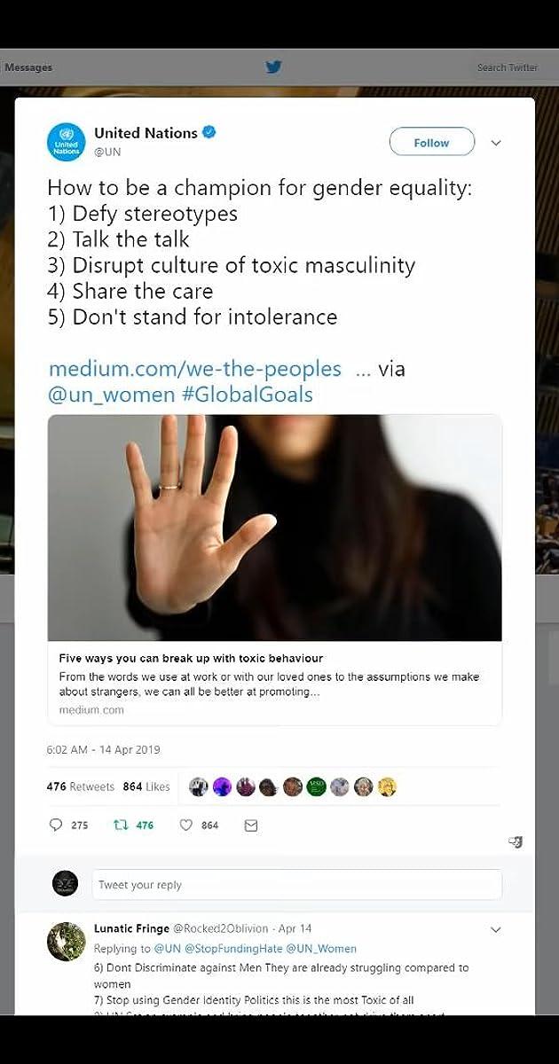 UN Gets Backlash for Pushing Gender Ideology on Twitter