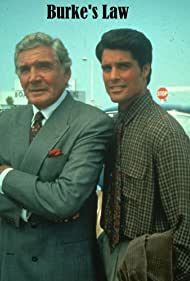 Gene Barry and Peter Barton in Burke's Law (1994)