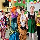 Alison Flannigan, Noelle Rosenkilde Knudsen, Sofie Matilde Mølkjær, Dianne Riesgo, and Mary Hossack in Fun World (2018)