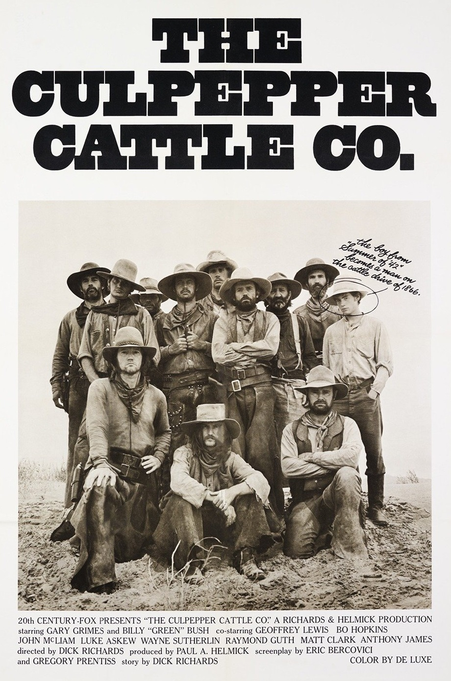 The Culpepper Cattle Co. (1972) - IMDb
