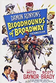 Bloodhounds of Broadway(1952) Poster - Movie Forum, Cast, Reviews