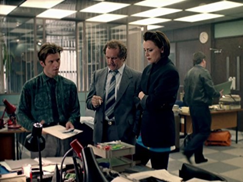 Keeley Hawes, Marshall Lancaster, and Dean Andrews in Ashes to Ashes (2008)