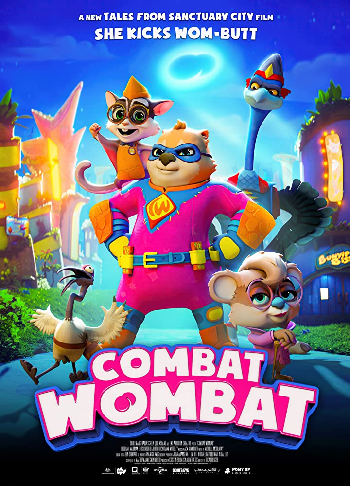 Combat Wombat 2020 English 720p HDRip 800MB Download