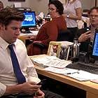 Phyllis Smith, Rainn Wilson, John Krasinski, Angela Kinsey, and Leslie David Baker in The Office (2005)