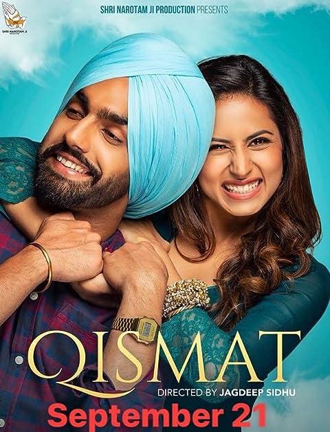 Qismat 2018 Punjabi Full Movie 480p NF HDRip ESubs 450MB Download
