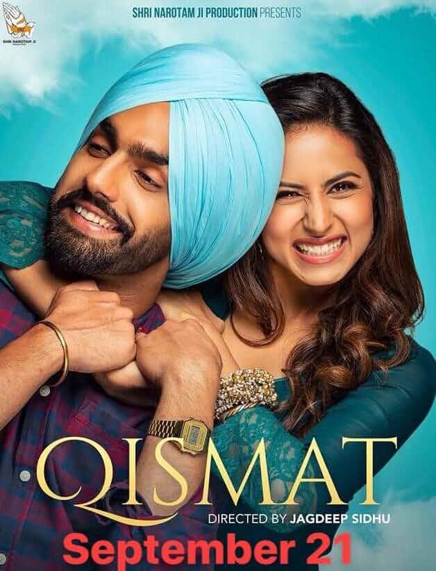 Qismat (2018) Punjabi 480p HDRip x264 350MB