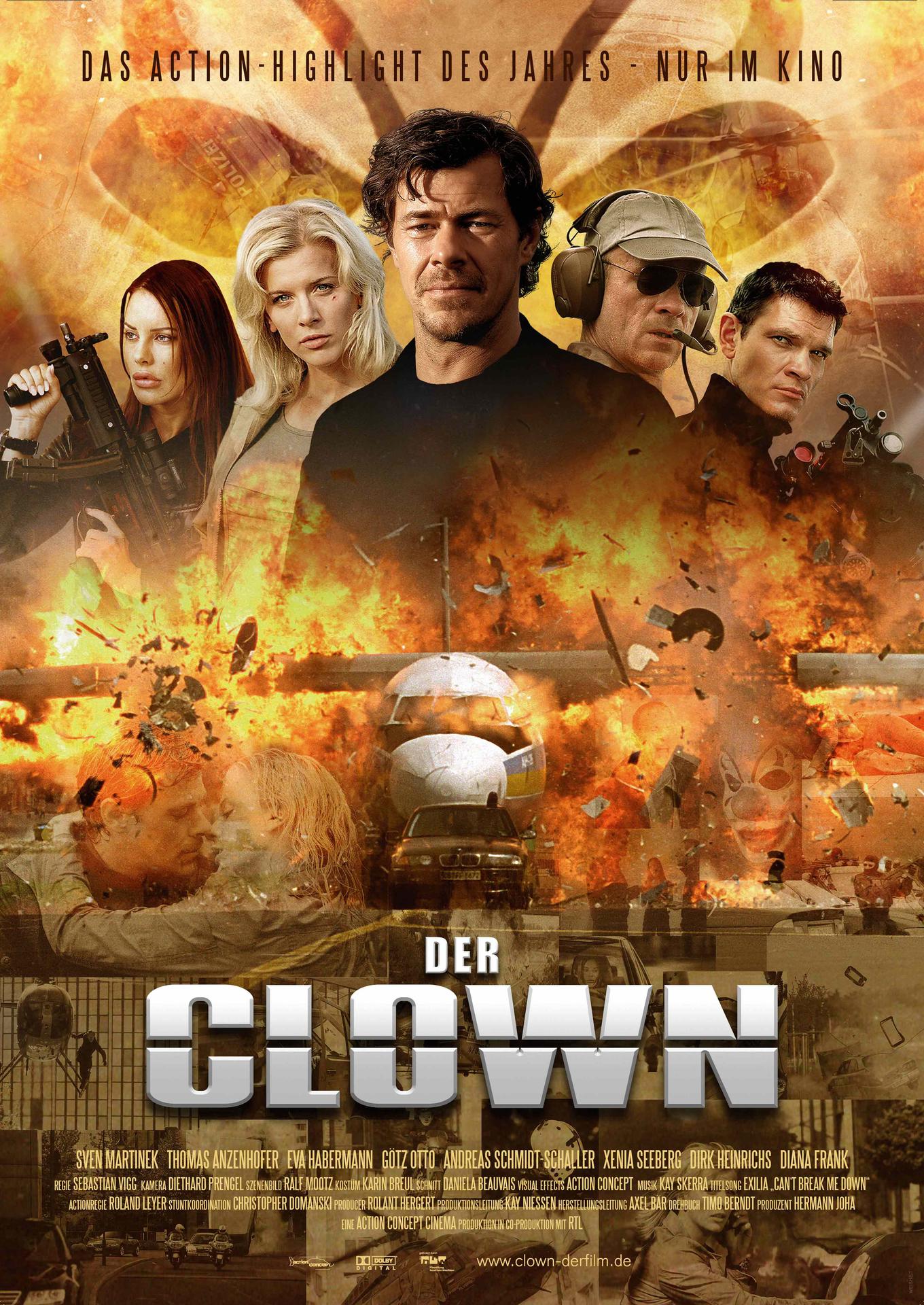 der clown film 1996
