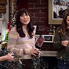 Bridgit Mendler, Siobhan Murphy, and Elizabeth Ho in Merry Happy Whatever (2019)