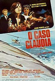 O Caso Cláudia Poster