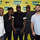 Joshua Krause, Sleepy Brown, Rico Wade, Raymond Murray, and Orlando McGhee at an event for The Art of Organized Noize (2016)