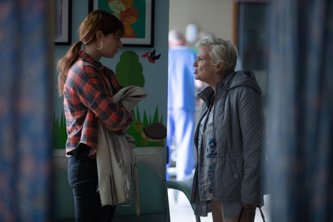 Julie Walters and Jessie Buckley in Wild Rose (2018)