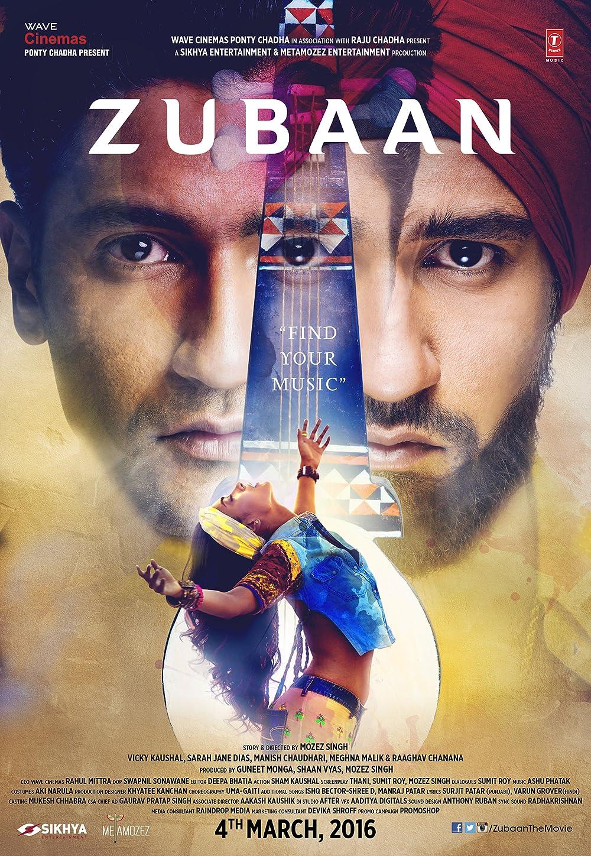 Zubaan (2021) Hindi Movie 720p HDRip 700MB Download