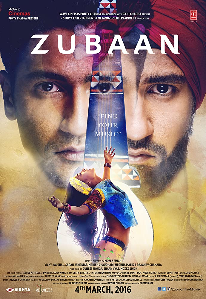 Zubaan 2016 Hindi Movie 300MB HDRip 480p